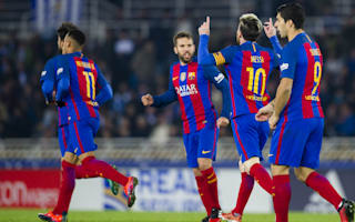 Real Sociedad 1 Barcelona 1: Messi rescues point but Anoeta curse goes on