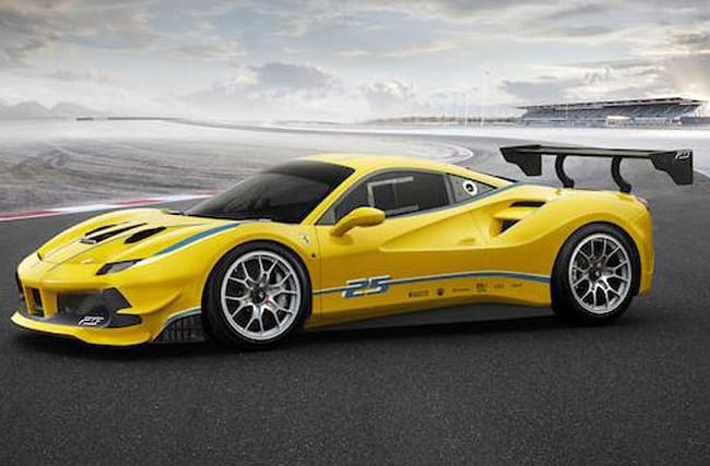 Ferrari unveils new 488 Challenge race car