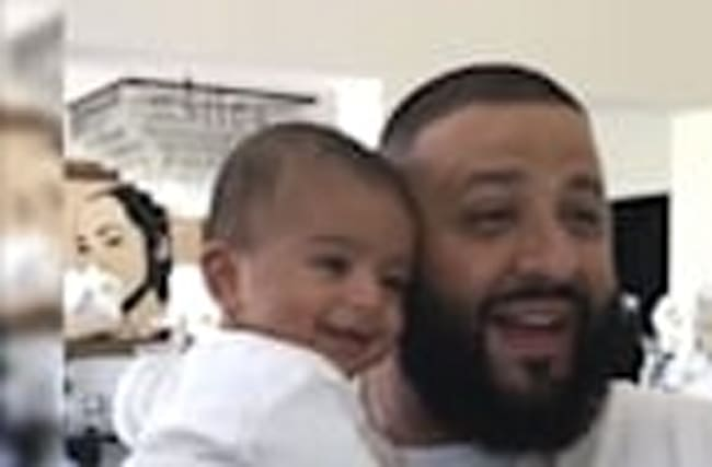 DJ Khaled and son Asahd
