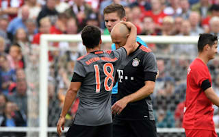 Robben out for six weeks with groin injury