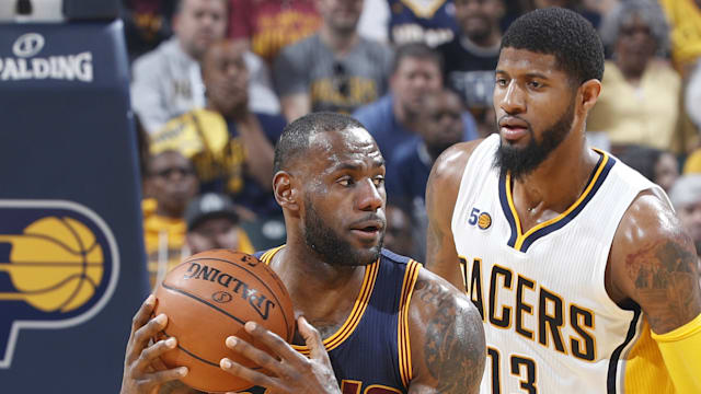 LeBron leads Cavs in sweeping Pacers