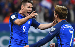 Deschamps happy with Griezmann, Gameiro