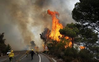Brits flee Marbella as huge wildfire rages in southern Spain, one man killed