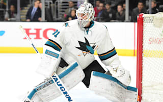 Sharks roll on, Flames win shoot-out