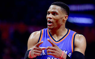 Westbrook records 34th triple-double as Warriors, Cavs cruise