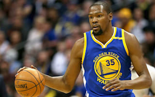 Warriors' Durant exits homecoming with knee injury