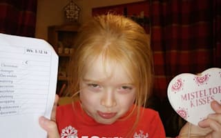 Six-year-old embarrasses Poundland by pointing out spelling mistake