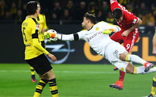 Dortmund keeper Burki out for eight weeks with broken hand