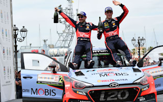 Neuville ends barren run with Rally Italy victory