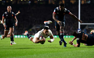 Te'o the hero as England scrape home to set record