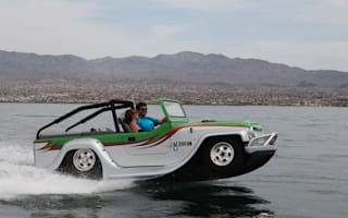 Is it a boat? Is it a Jeep? It's the world's fastest amphibious car!