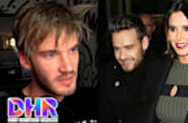 PewDiePie Racist & DELETING Youtube Channel? Liam Payne & Cheryl Engaged? (DHR)
