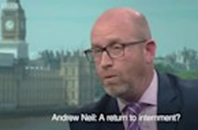 Paul Nuttall 'would not rule out' internment for terror suspects