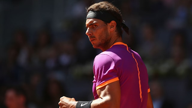 Nadal set for semi-final showdown with Djokovic in Madrid