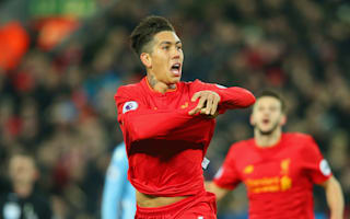 Liverpool 4 Stoke City 1: Firmino on target as rampant Reds reclaim second