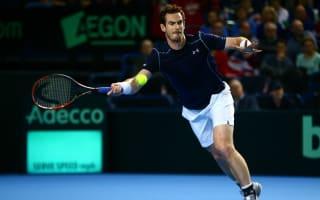 Murray and Nishikori win in deadlock, Switzerland rue Federer and Wawrinka absence