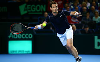 Murray and Nishikori win in deadlock, Switzerland rue Federer and Wawrinka absence