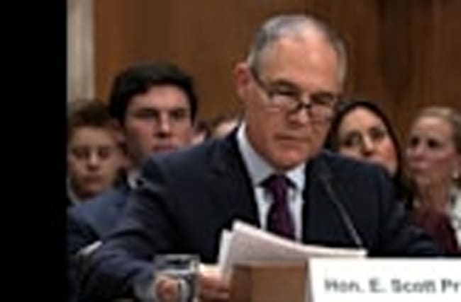 Trump's EPA Pick Pruitt Begins Hill Hearings