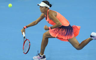 Zhang stars in Zhuhai, Suarez Navarro forced to withdraw