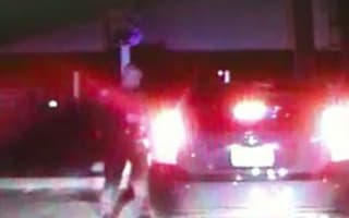 Video: Drunk driver gets stopped by police, THEN crashes. Twice