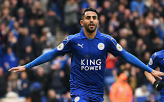 Leicester City 3 Watford 0: Centurion Mahrez on target as champions move into top half