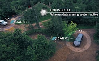 Jaguar Land Rover unveils autonomous all-terrain technology