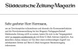 SZ-Magazin gehackt