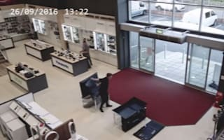 Man causes £5,000 damage in five seconds