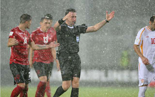 Heavy rain postpones Albania-Macedonia match