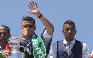 Ronaldo backed Valencia move, says Nani