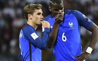 Griezmann defends Pogba after France win