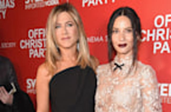 EXCLUSIVE: Jennifer Aniston and Olivia Munn Gush Over One Another and Define Friendship Goals!