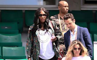 WATCH: Pregnant Serena Williams still packing a punch