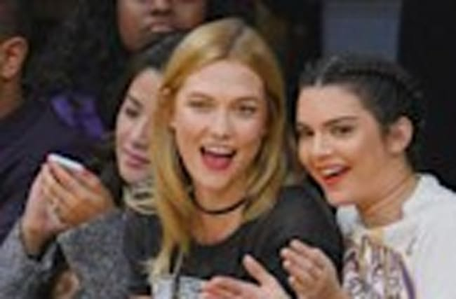 Kendall Jenner and Karlie Kloss Have Girls' Night Out at Lakers Game