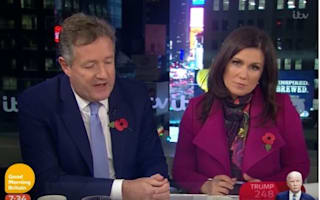 Viewers criticise Piers Morgan over Donald Trump comments