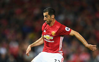 United's Mkhitaryan a fitness doubt for Manchester derby