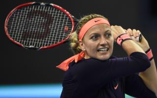 Kvitova prevails in Luxembourg, unwell Wozniacki withdraws