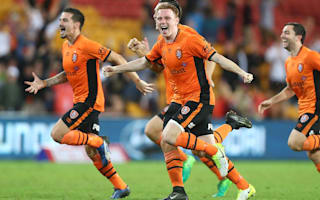 Brisbane Roar 1 Western Sydney Wanderers 1 (6-5 pens): Super sub Young pulls off penalty heroics