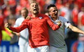 Grosicki struggled to watch Poland shootout win