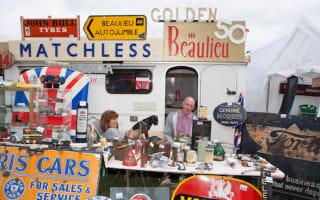 Beaulieu's 50th International Autojumble sees huge turnout