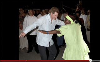 Prince Harry dances Creole in Belize