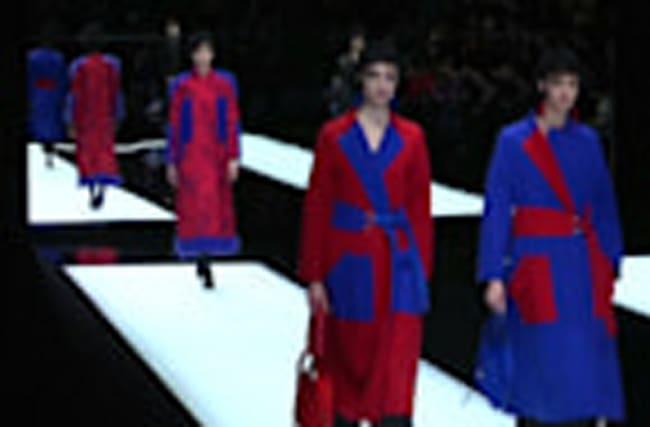 Milan Fashion Week wraps up with Armani's colourful collection