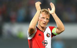 Feyenoord 1 Ajax 1: Kuyt cancels out Dolberg opener