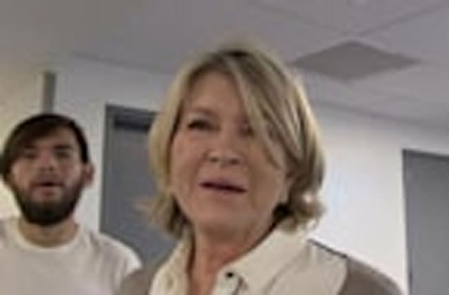 Martha Stewart -- Sexting Is Totally Wholesome!!!