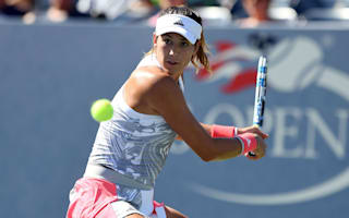 Battling Muguruza avoids US Open upset, Kerber coasts through