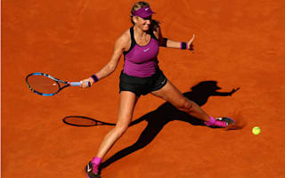 Azarenka out of Madrid Open with back injury