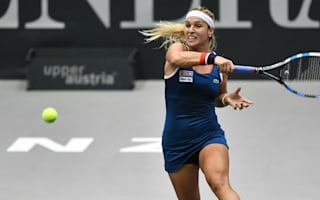 Cibulkova dominates to set up Golubic Linz final