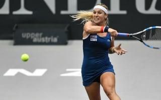 Cibulkova dominates to set up Golubic Linz final