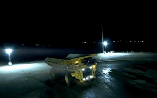 Drifting a 200-tonne mining truck is possible
