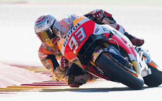 Marquez triumphs in Aragon to pull clear of Rossi